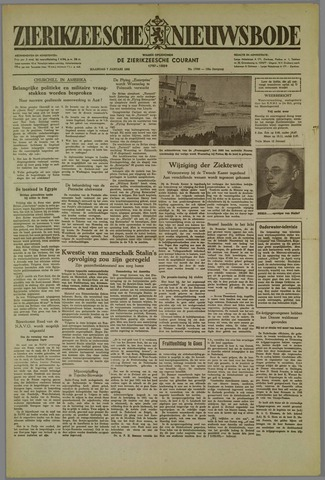 Zierikzeesche Nieuwsbode 1952-01-07