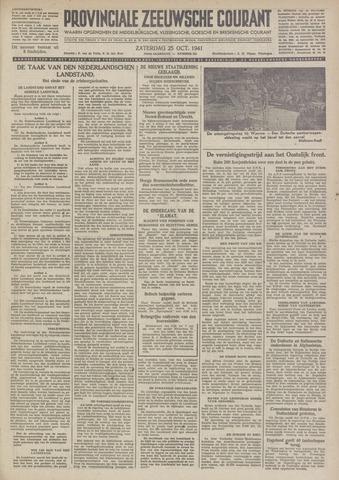 Provinciale Zeeuwse Courant 1941-10-25