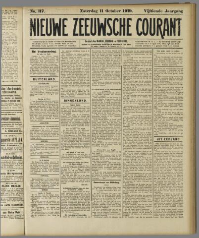 Nieuwe Zeeuwsche Courant 1919-10-11