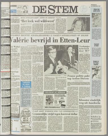de Stem 1987-02-23