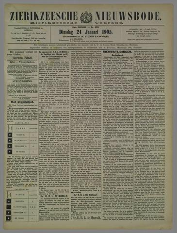 Zierikzeesche Nieuwsbode 1905-01-24