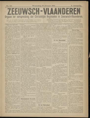 Luctor et Emergo. Antirevolutionair nieuws- en advertentieblad voor Zeeland / Zeeuwsch-Vlaanderen. Orgaan ter verspreiding van de christelijke beginselen in Zeeuwsch-Vlaanderen 1919-01-29