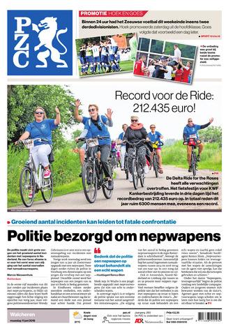 Provinciale Zeeuwse Courant 2018-06-11