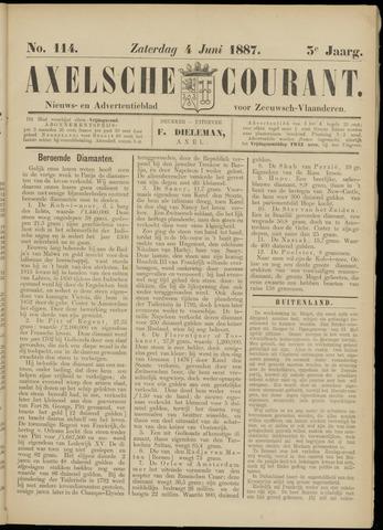 Axelsche Courant 1887-06-04
