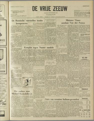 de Vrije Zeeuw 1961-11-28