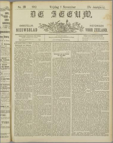 De Zeeuw. Christelijk-historisch nieuwsblad voor Zeeland 1912-11-01