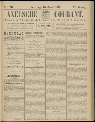 Axelsche Courant 1907-06-15