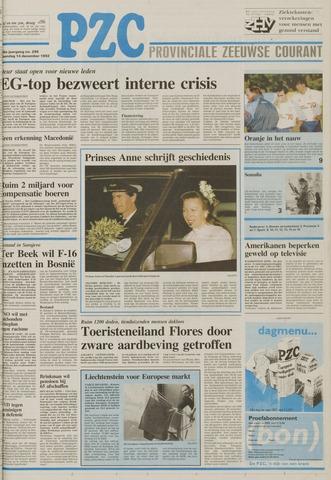 Provinciale Zeeuwse Courant 1992-12-14