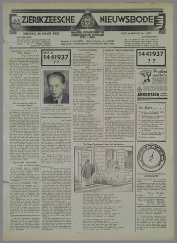 Zierikzeesche Nieuwsbode 1937-03-30