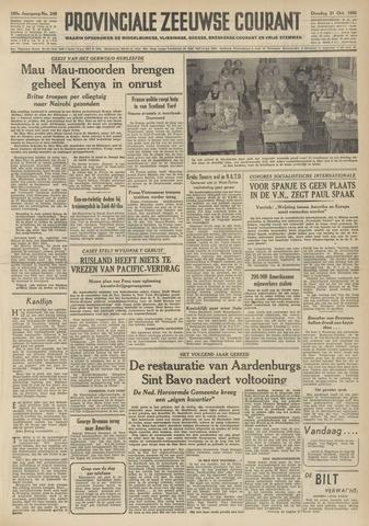 Provinciale Zeeuwse Courant 1952-10-21