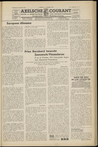 Axelsche Courant 1952-10-18