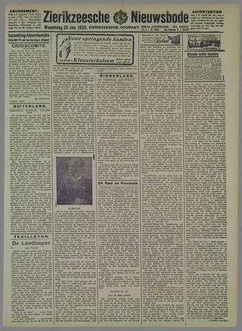 Zierikzeesche Nieuwsbode 1932-01-20