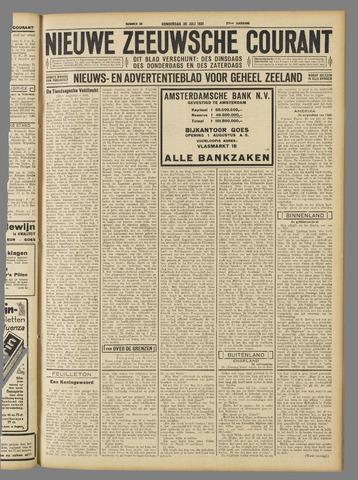 Nieuwe Zeeuwsche Courant 1931-07-30