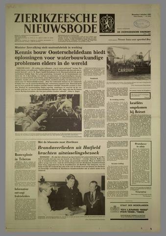 Zierikzeesche Nieuwsbode 1982-10-04