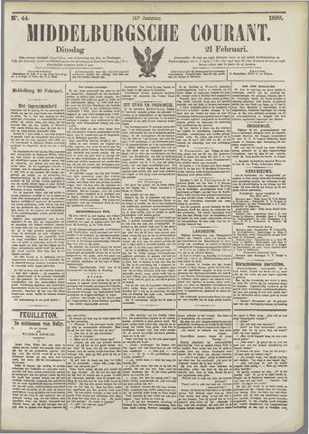 Middelburgsche Courant 1899-02-21