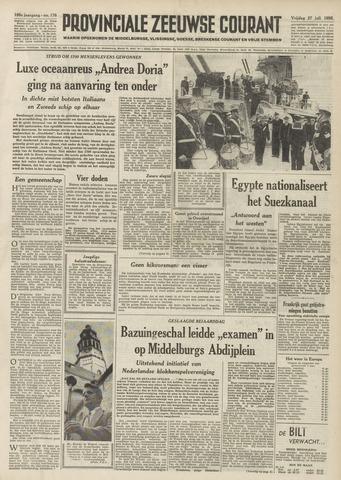 Provinciale Zeeuwse Courant 1956-07-27