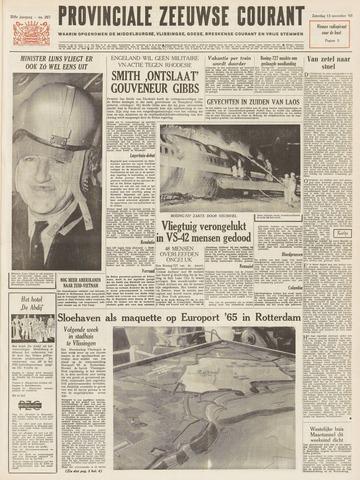 Provinciale Zeeuwse Courant 1965-11-13