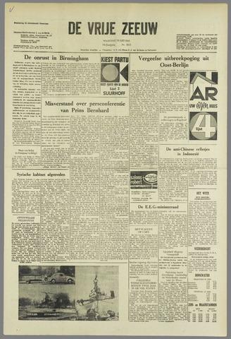 de Vrije Zeeuw 1963-05-13