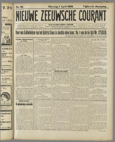 Nieuwe Zeeuwsche Courant 1919-04-01