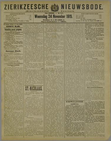 Zierikzeesche Nieuwsbode 1915-11-24