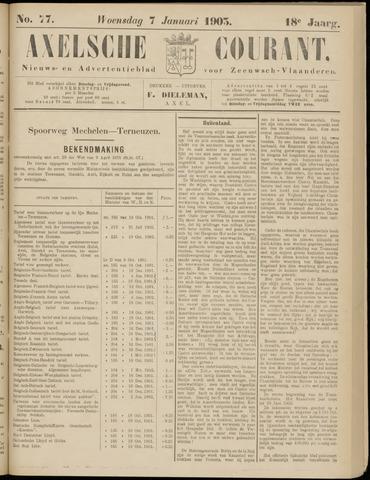 Axelsche Courant 1903-01-07