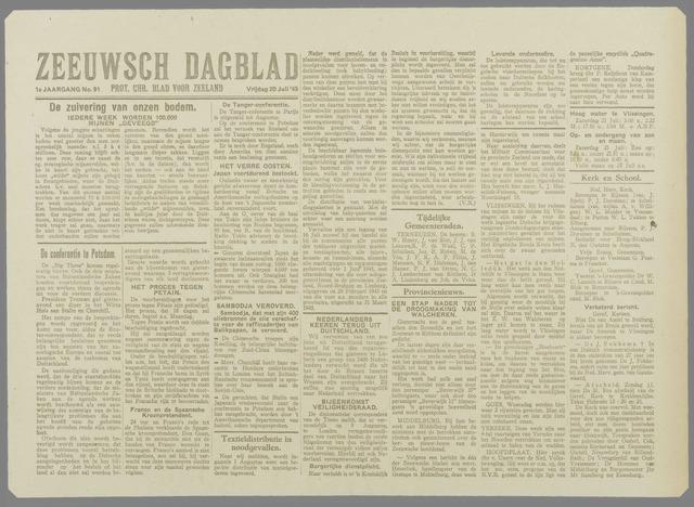 Zeeuwsch Dagblad 1945-07-20