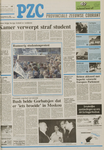 Provinciale Zeeuwse Courant 1991-11-13