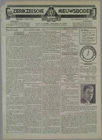 Zierikzeesche Nieuwsbode 1937-06-04