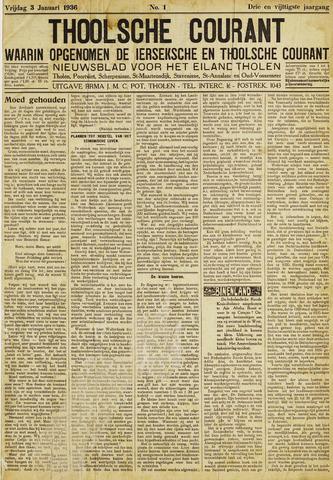 Ierseksche en Thoolsche Courant 1936