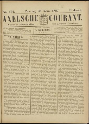 Axelsche Courant 1887-03-26