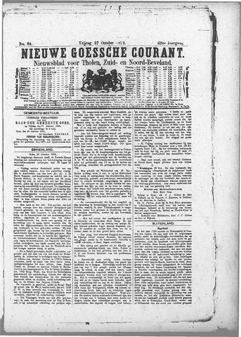 Nieuwe Goessche Courant 1876-10-27