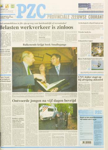 Provinciale Zeeuwse Courant 2003-10-27