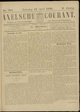 Axelsche Courant 1890-04-19