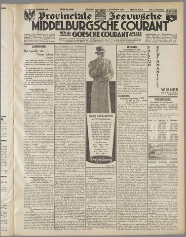 Middelburgsche Courant 1936-11-06