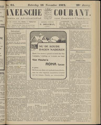 Axelsche Courant 1912-11-16