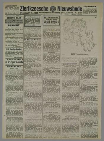 Zierikzeesche Nieuwsbode 1932-12-21
