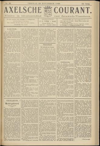 Axelsche Courant 1929-11-29