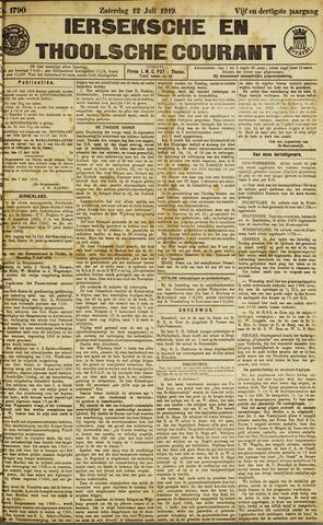 Ierseksche en Thoolsche Courant 1919-07-12