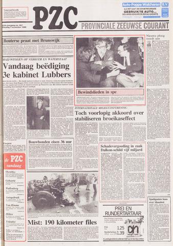Provinciale Zeeuwse Courant 1989-11-07