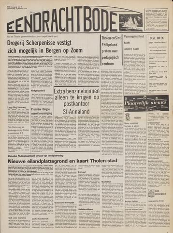 Eendrachtbode (1945-heden)/Mededeelingenblad voor het eiland Tholen (1944/45) 1974