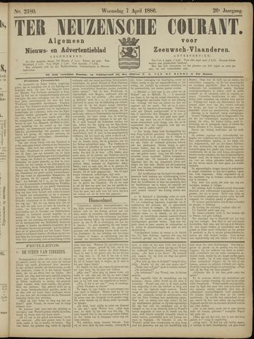 Ter Neuzensche Courant. Algemeen Nieuws- en Advertentieblad voor Zeeuwsch-Vlaanderen / Neuzensche Courant ... (idem) / (Algemeen) nieuws en advertentieblad voor Zeeuwsch-Vlaanderen 1886-04-07