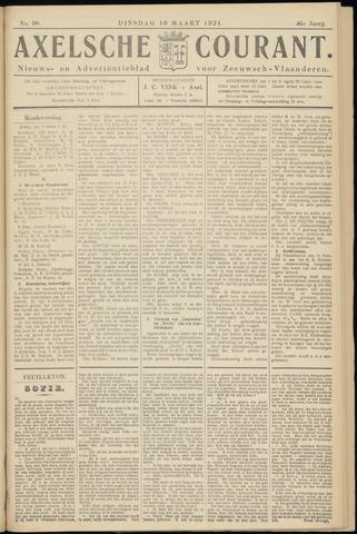 Axelsche Courant 1931-03-10