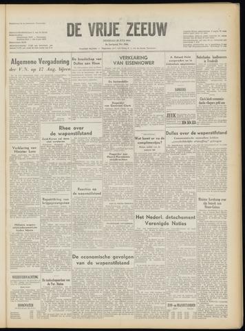de Vrije Zeeuw 1953-07-28