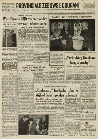 Provinciale Zeeuwse Courant 1956-02-22