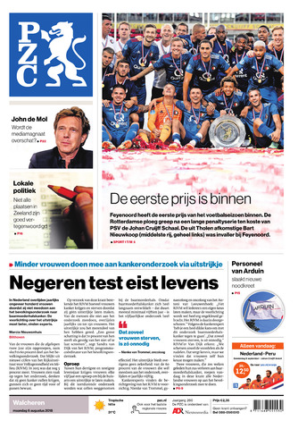 Provinciale Zeeuwse Courant 2018-08-06