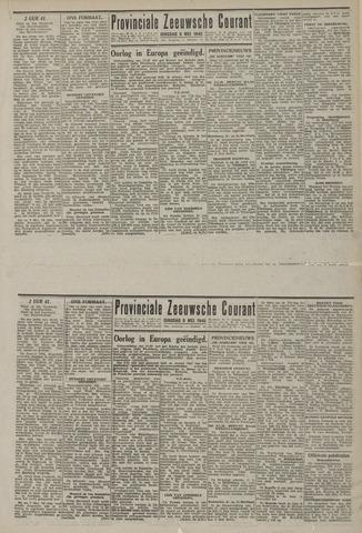 Provinciale Zeeuwse Courant 1945-05-08