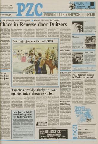 Provinciale Zeeuwse Courant 1992-06-09
