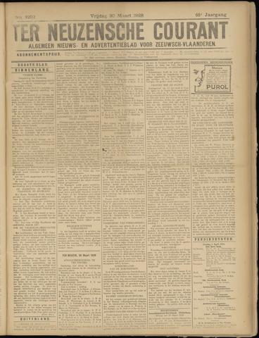 Ter Neuzensche Courant. Algemeen Nieuws- en Advertentieblad voor Zeeuwsch-Vlaanderen / Neuzensche Courant ... (idem) / (Algemeen) nieuws en advertentieblad voor Zeeuwsch-Vlaanderen 1928-03-30