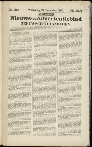 Ter Neuzensche Courant. Algemeen Nieuws- en Advertentieblad voor Zeeuwsch-Vlaanderen / Neuzensche Courant ... (idem) / (Algemeen) nieuws en advertentieblad voor Zeeuwsch-Vlaanderen 1865-12-27