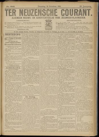 Ter Neuzensche Courant. Algemeen Nieuws- en Advertentieblad voor Zeeuwsch-Vlaanderen / Neuzensche Courant ... (idem) / (Algemeen) nieuws en advertentieblad voor Zeeuwsch-Vlaanderen 1916-10-31